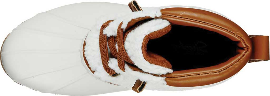 Women's Skechers Pond Sherpa Snuggle Duck Boot, Natural, large, image 4