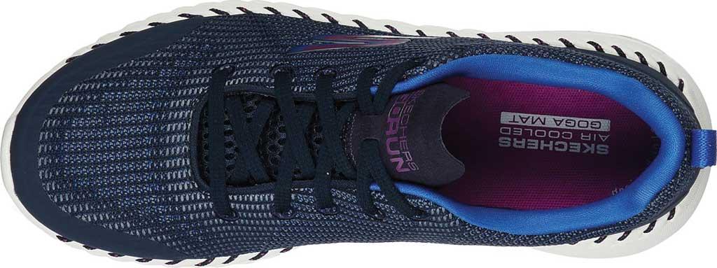 Women's Skechers GOrun Smart Sneaker, Navy/Blue, large, image 4