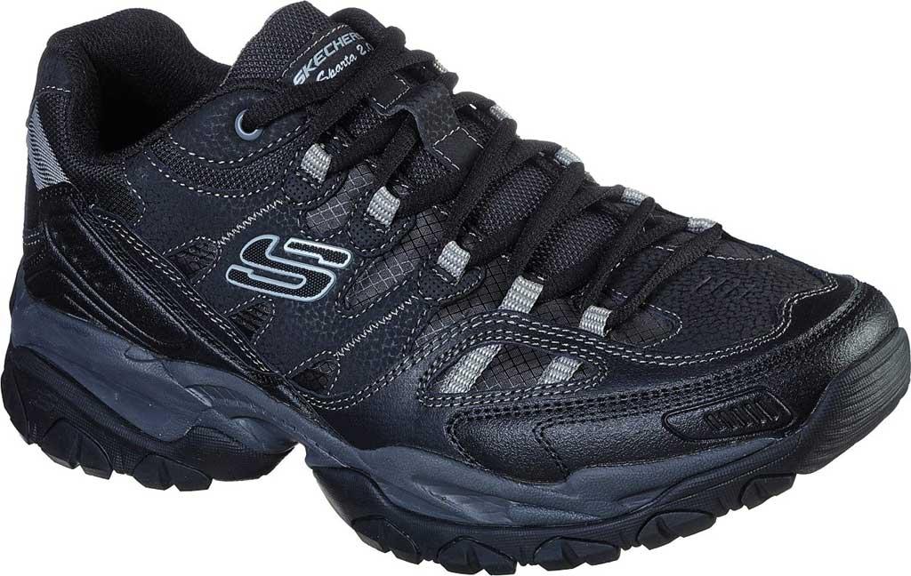 Men's Skechers Sparta 2.0 Domitia Sneaker, Black/Charcoal, large, image 1