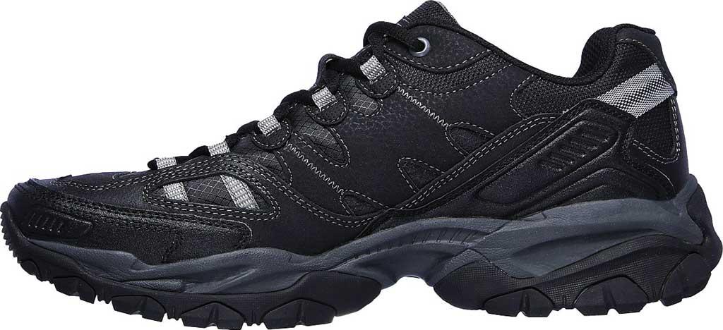 Men's Skechers Sparta 2.0 Domitia Sneaker, Black/Charcoal, large, image 3