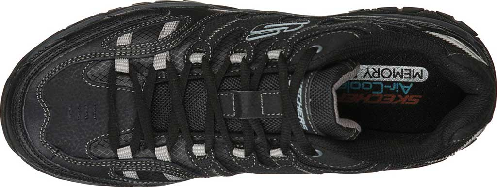 Men's Skechers Sparta 2.0 Domitia Sneaker, Black/Charcoal, large, image 4
