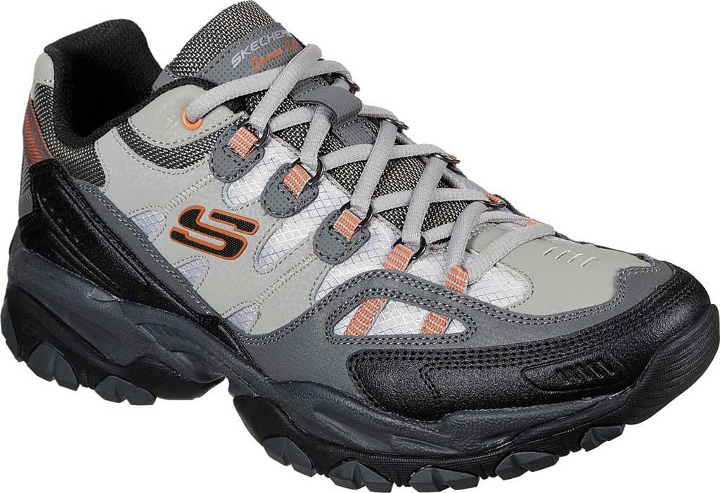 Men's Skechers Sparta 2.0 Domitia Sneaker, Gray/Orange, large, image 1