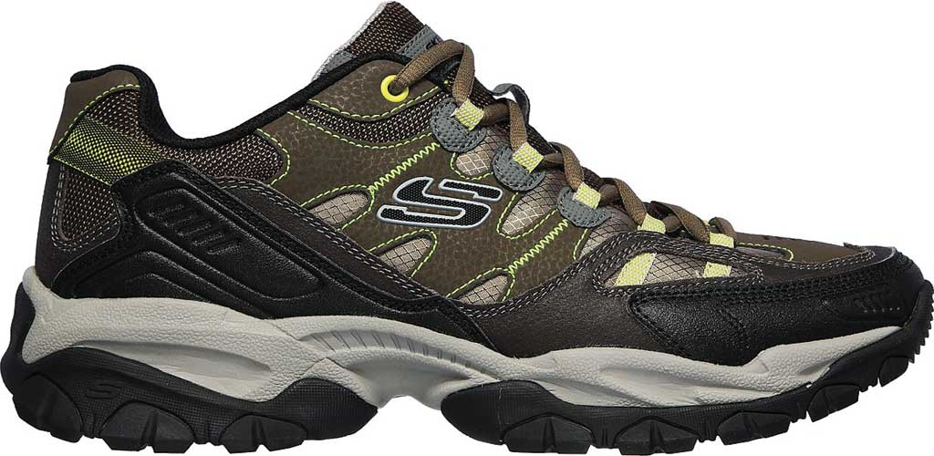 Men's Skechers Sparta 2.0 Domitia Sneaker, Olive/Black, large, image 2