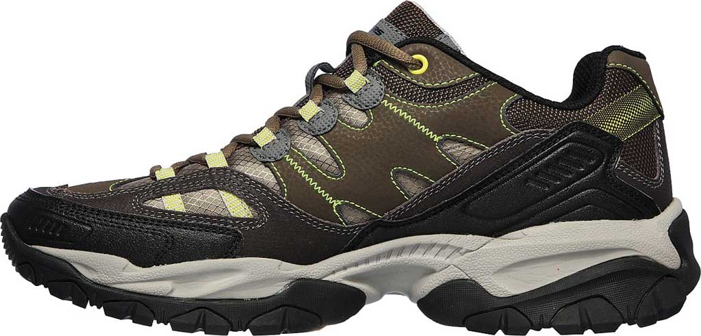 Men's Skechers Sparta 2.0 Domitia Sneaker, Olive/Black, large, image 3