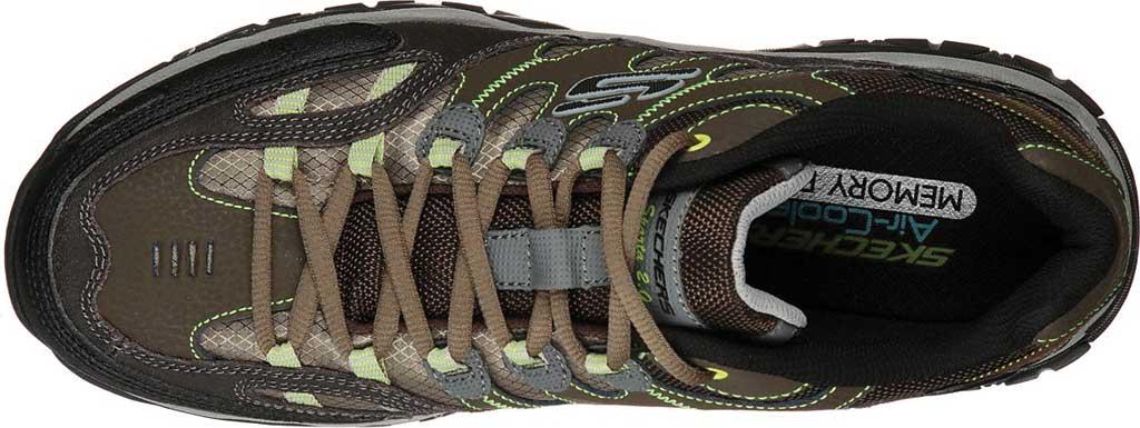 Men's Skechers Sparta 2.0 Domitia Sneaker, Olive/Black, large, image 4