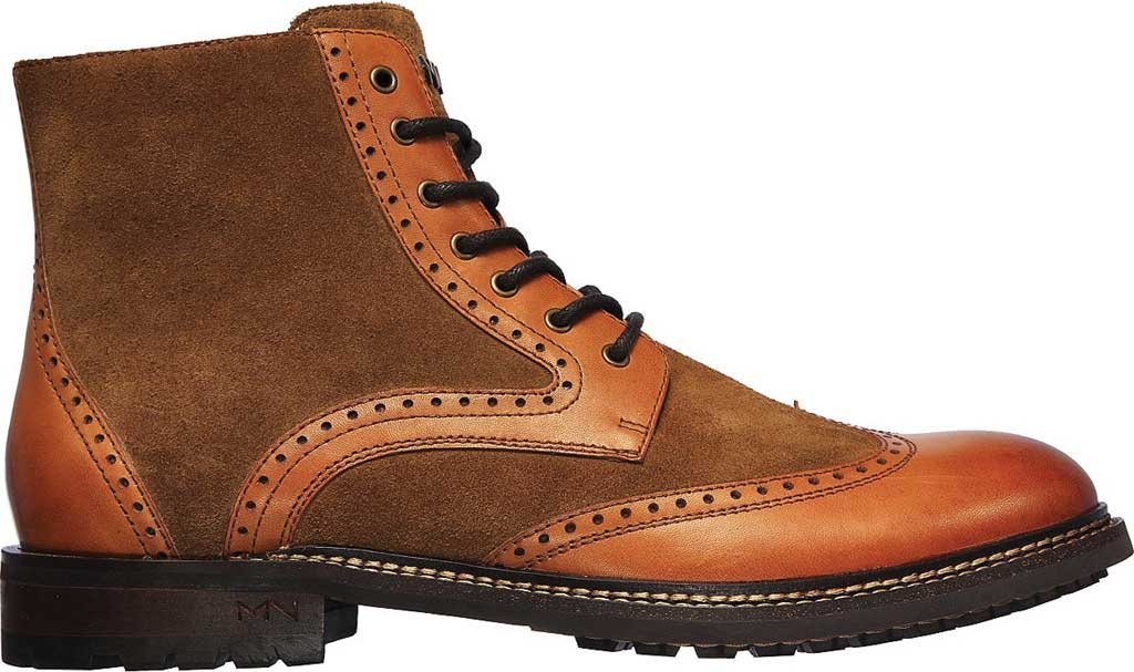 Men's Mark Nason Los Angeles Ithaca Beaufort Wing Tip Boot, Tan, large, image 2