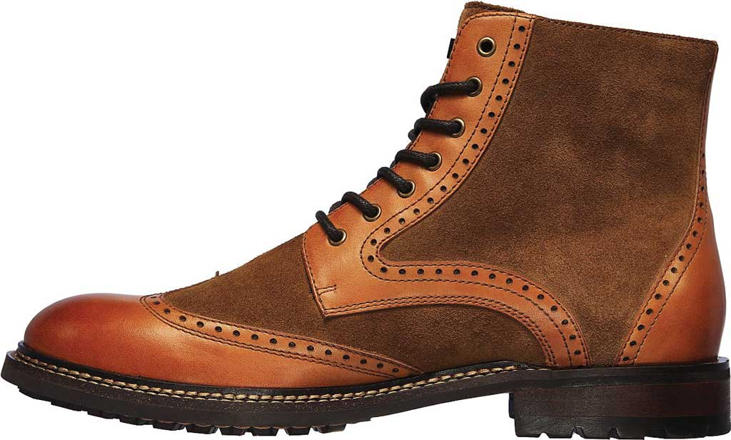 Men's Mark Nason Los Angeles Ithaca Beaufort Wing Tip Boot, Tan, large, image 3