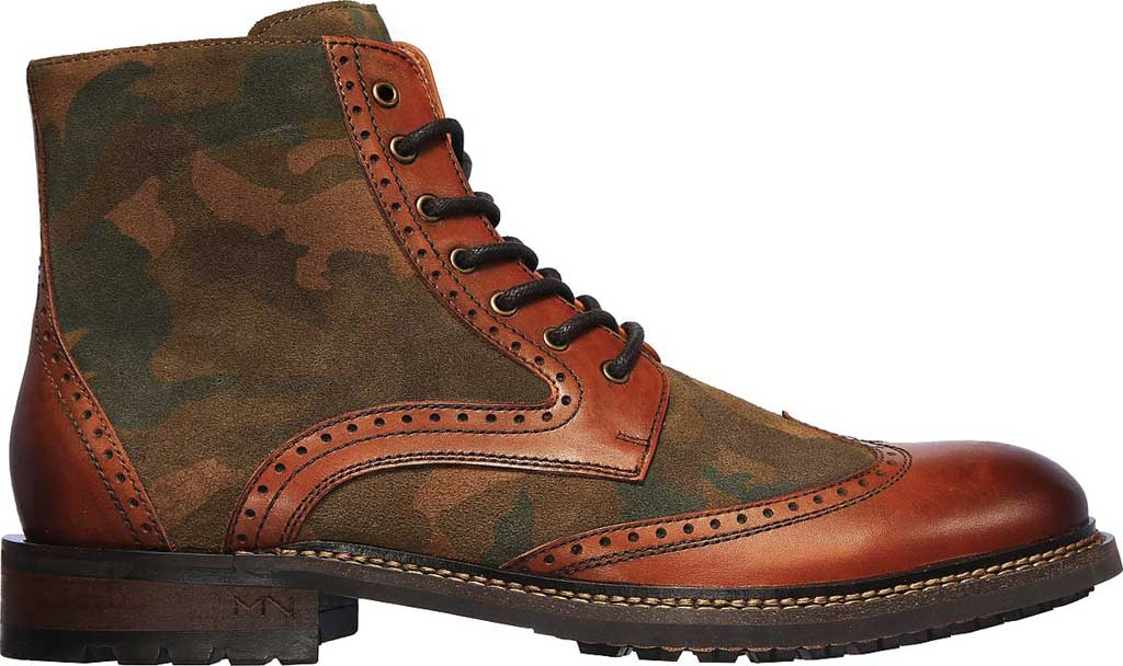 Men's Mark Nason Los Angeles Ithaca Beaufort Wing Tip Boot, Camouflage, large, image 2