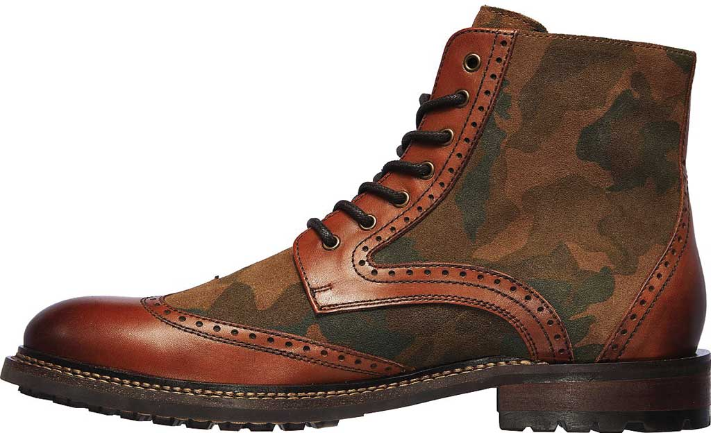 Men's Mark Nason Los Angeles Ithaca Beaufort Wing Tip Boot, Camouflage, large, image 3