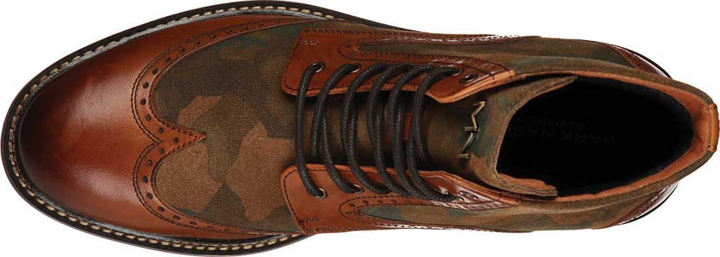 Men's Mark Nason Los Angeles Ithaca Beaufort Wing Tip Boot, Camouflage, large, image 4