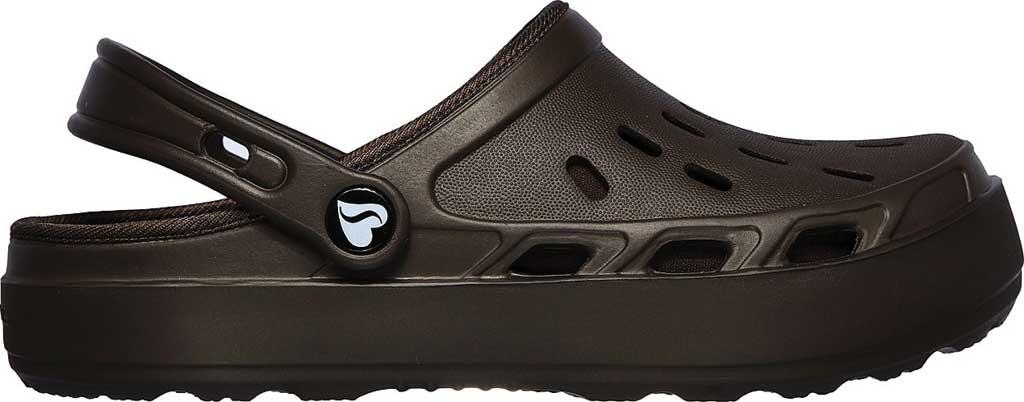 Women's Skechers Foamies Swifters Stay Warm Clog, Chocolate, large, image 2