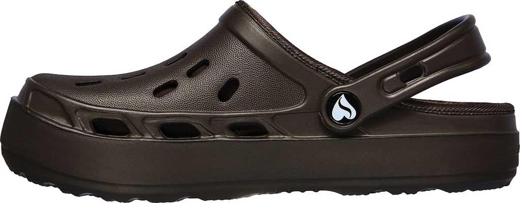Women's Skechers Foamies Swifters Stay Warm Clog, Chocolate, large, image 3