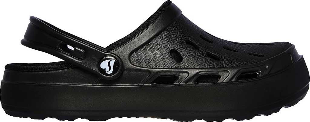 Women's Skechers Foamies Swifters Stay Warm Clog, Black/Black, large, image 2