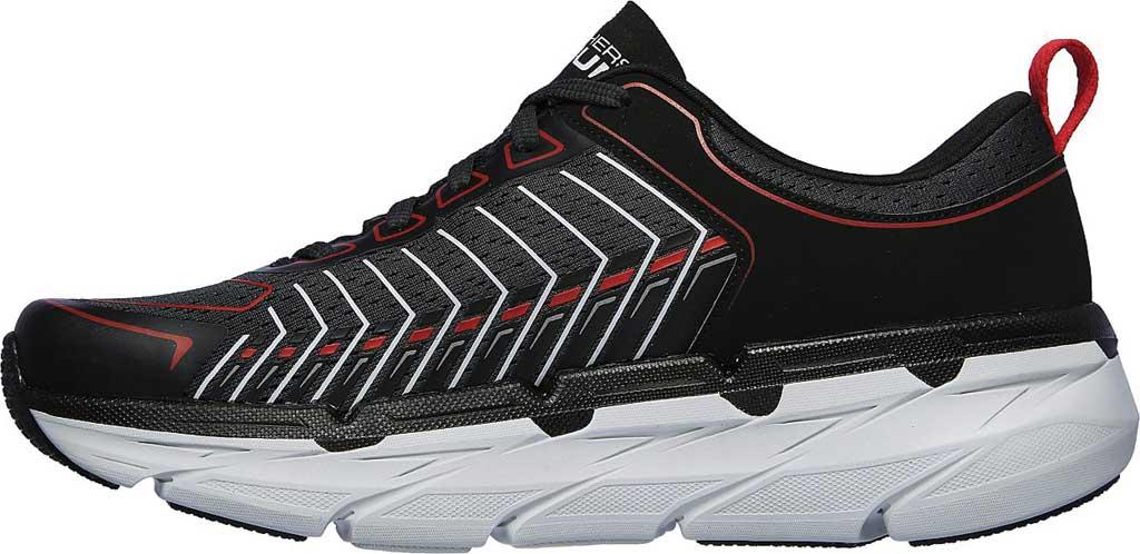 Men's Skechers Max Cushioning Premier Endeavour Sneaker, Black/White/Red, large, image 3