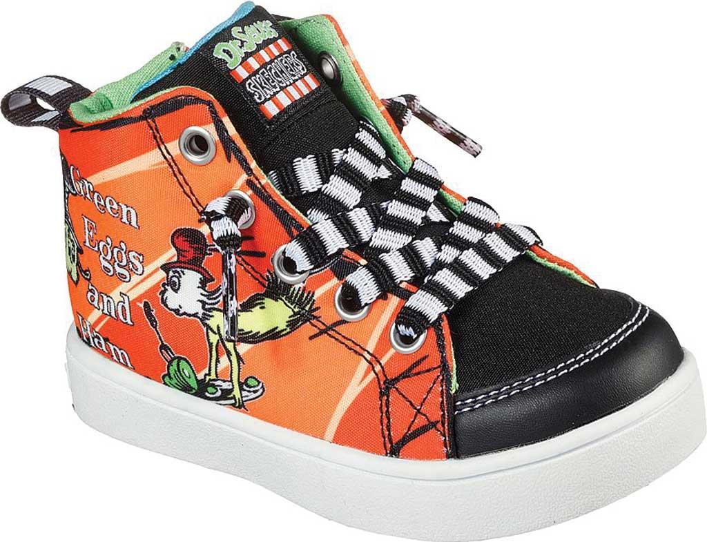 Infant Boys' Skechers Dr. Seuss The Grinch Duratronz Lil SeussLand Shoe, Orange/Multi, large, image 1