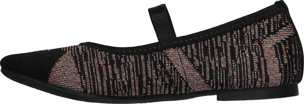 Girls' Skechers Cleo Beyond Beautiful Mary Jane, Black/Multi, large, image 3