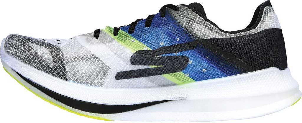 Men's Skechers GOrun Speed Elite Hyper Running Sneaker, Black/Blue, large, image 3