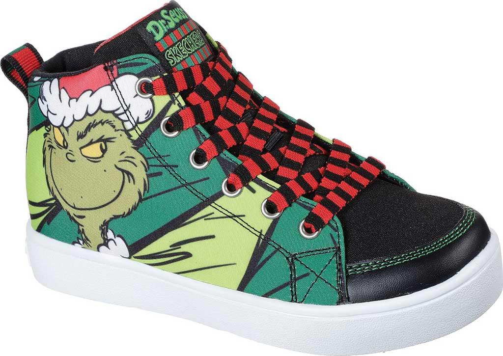 Boys' Skechers Dr. Seuss Duratronz SeussWorld High Top Sneaker, Green/Multi, large, image 1