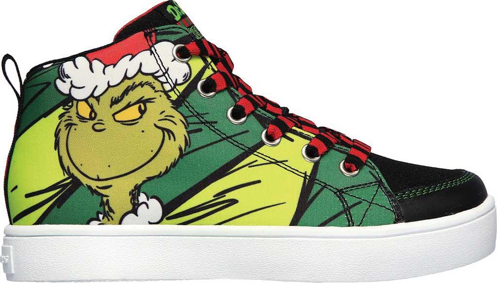 Boys' Skechers Dr. Seuss Duratronz SeussWorld High Top Sneaker, Green/Multi, large, image 2