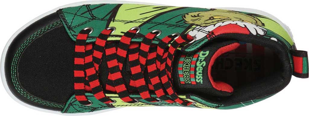 Boys' Skechers Dr. Seuss Duratronz SeussWorld High Top Sneaker, Green/Multi, large, image 4
