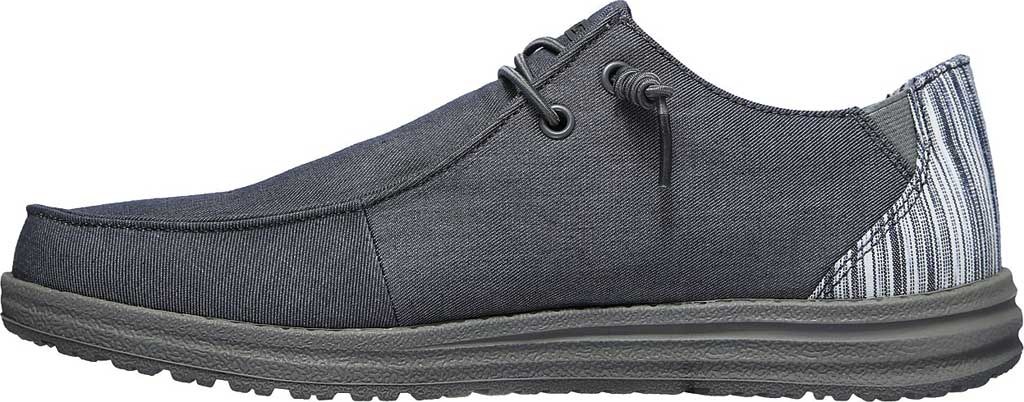 Men's Skechers Relaxed Fit Melson Aveso Moc Toe Slip On, Grey, large, image 3
