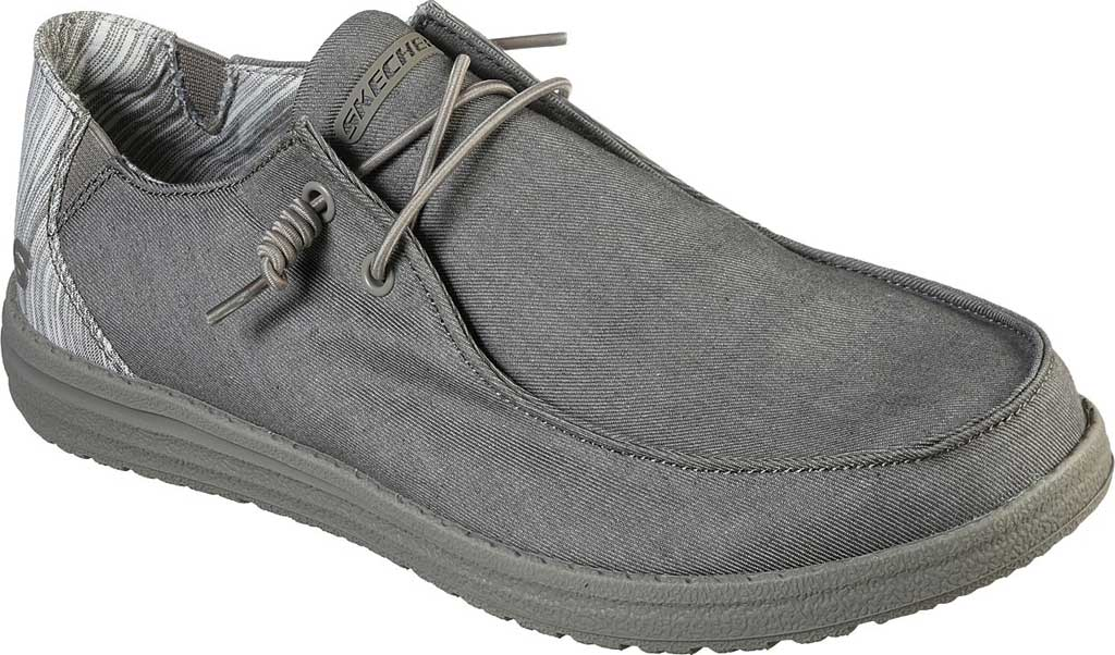 Men's Skechers Relaxed Fit Melson Aveso Moc Toe Slip On, Tan, large, image 1