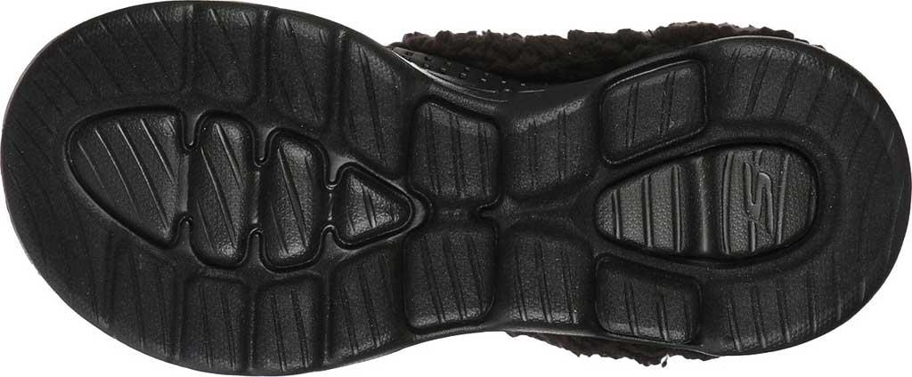 Women's Skechers Foamies GOwalk 5 Relax Clog, Black/Black, large, image 5