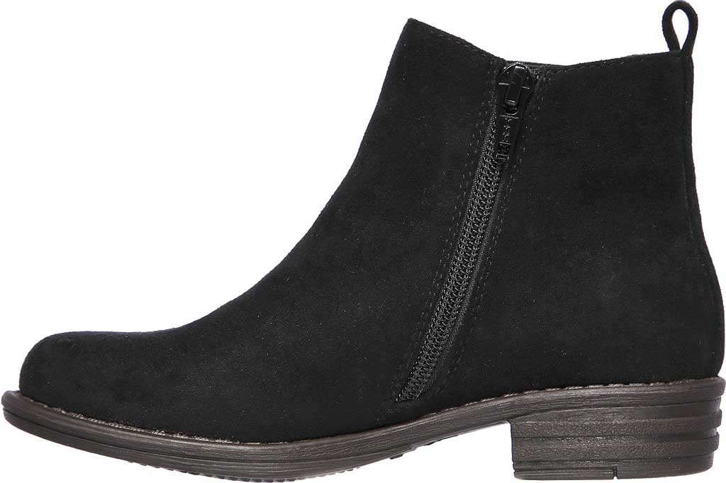 Girls' Skechers Mad Dash Sassy Sparkles Ankle Bootie, Black, large, image 3