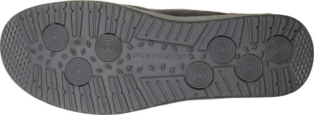 Men's Skechers Relaxed Fit Melson Planon Moc Toe Slip On, Charcoal, large, image 5
