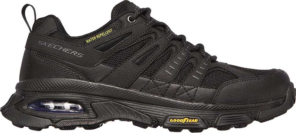 Men's Skechers Skech Air Envoy Hiking Sneaker, Black, large, image 2