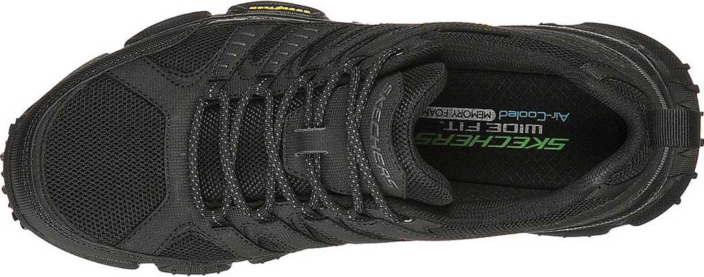 Men's Skechers Skech Air Envoy Hiking Sneaker, Black, large, image 4