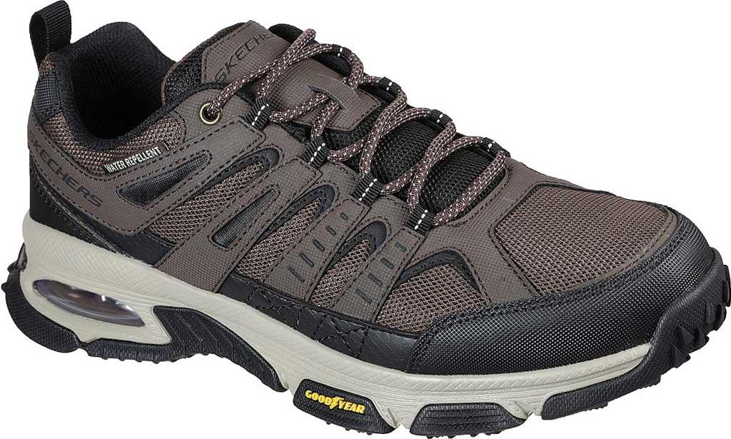 Men's Skechers Skech Air Envoy Hiking Sneaker, Brown/Black, large, image 1