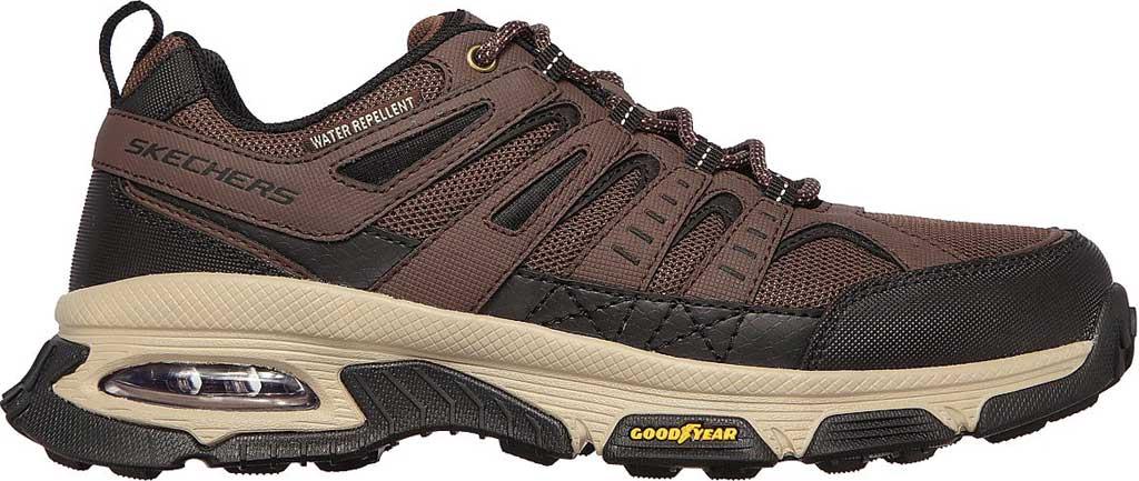 Men's Skechers Skech Air Envoy Hiking Sneaker, Brown/Black, large, image 2