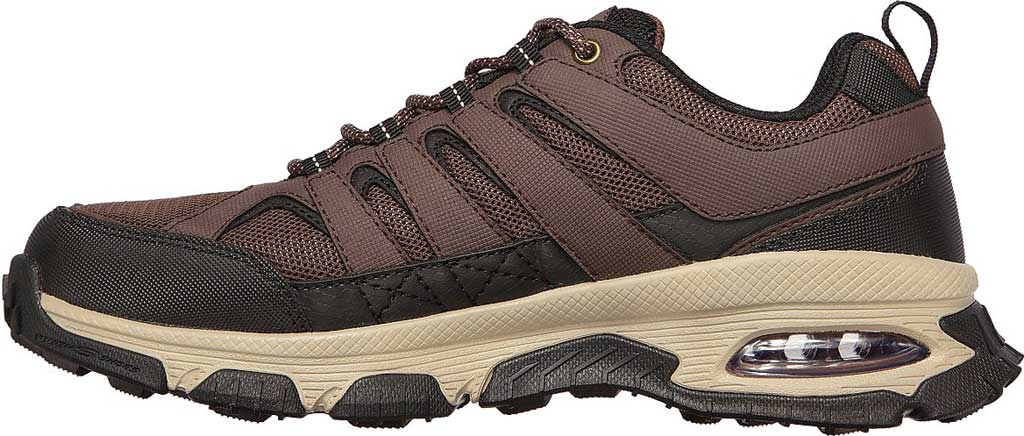 Men's Skechers Skech Air Envoy Hiking Sneaker, Brown/Black, large, image 3