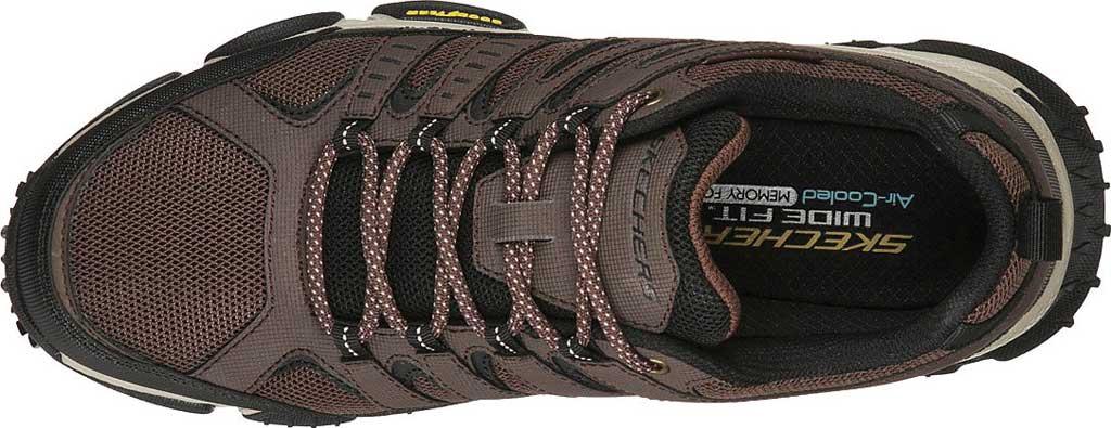 Men's Skechers Skech Air Envoy Hiking Sneaker, Brown/Black, large, image 4