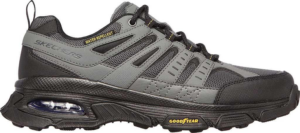 Men's Skechers Skech Air Envoy Hiking Sneaker, Gray/Black, large, image 2