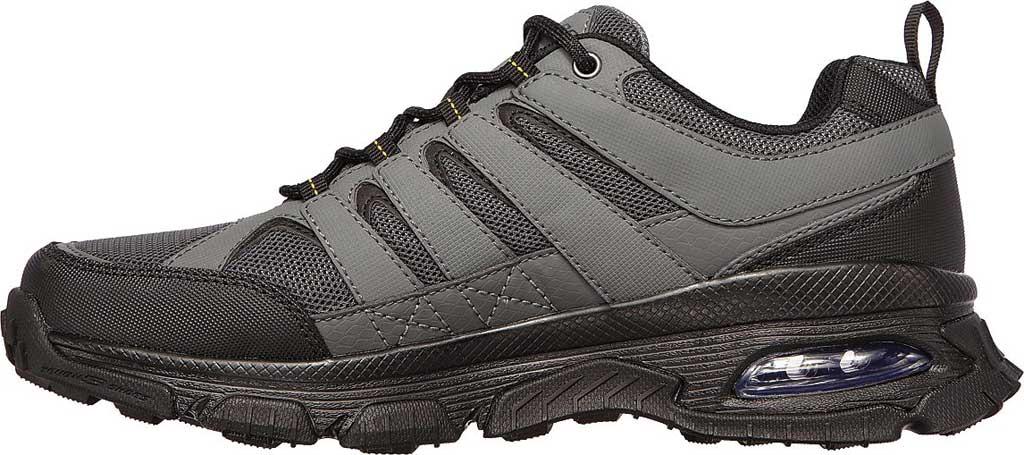 Men's Skechers Skech Air Envoy Hiking Sneaker, Gray/Black, large, image 3