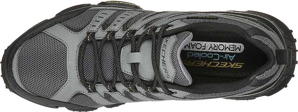 Men's Skechers Skech Air Envoy Hiking Sneaker, Gray/Black, large, image 4