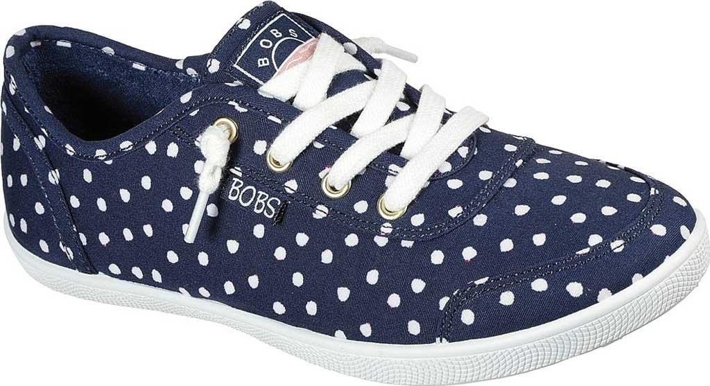 Women's Skechers BOBS B Cute Dot Dot Dot Sneaker, Navy, large, image 1