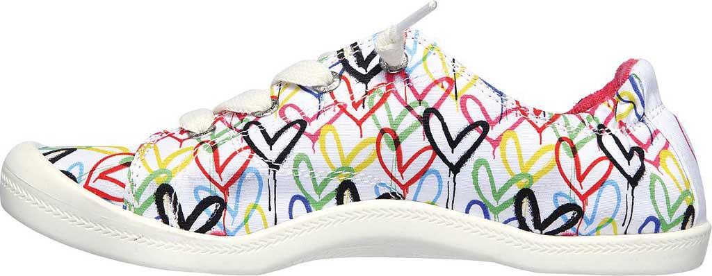 Women's Skechers BOBS Beach Bingo Love Truly Sneaker, White/Multi, large, image 3