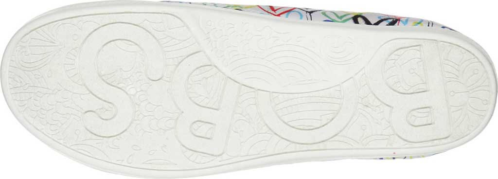 Women's Skechers BOBS Beach Bingo Love Truly Sneaker, White/Multi, large, image 5