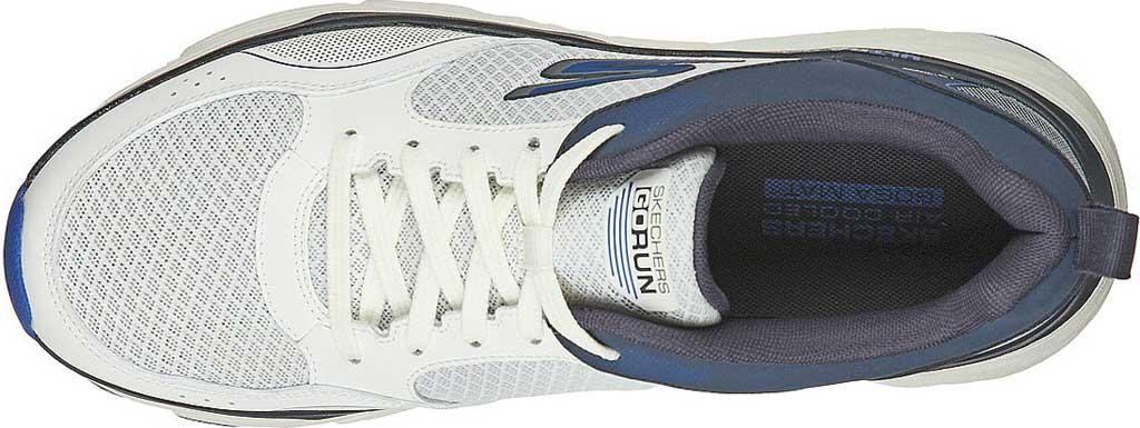 Men's Skechers Max Cushioning Elite Rivalry Sneaker, White/Navy, large, image 4