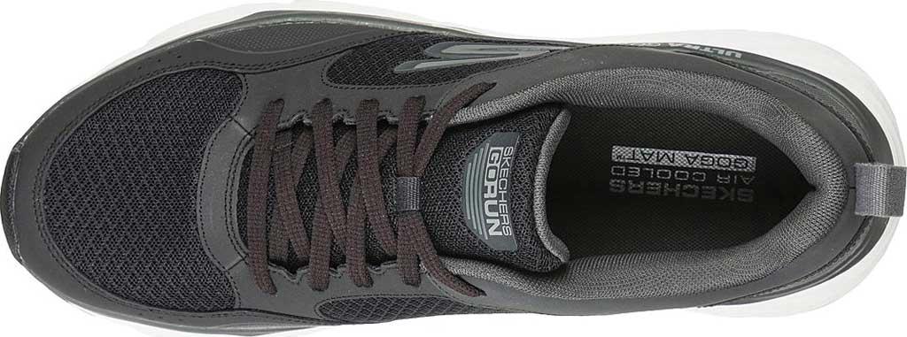Men's Skechers Max Cushioning Elite Rivalry Sneaker, Black/Gray, large, image 4