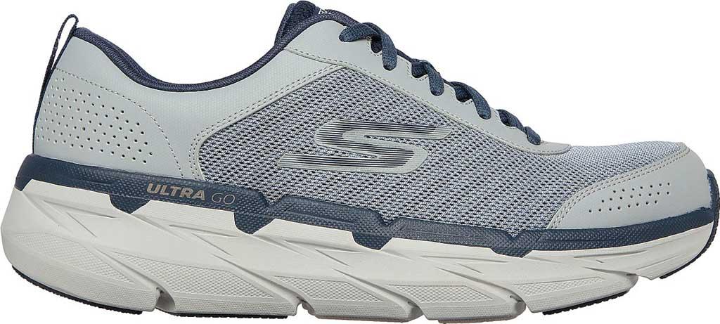 Men's Skechers Max Cushioning Premier Parag Running Sneaker, Grey/Navy, large, image 2