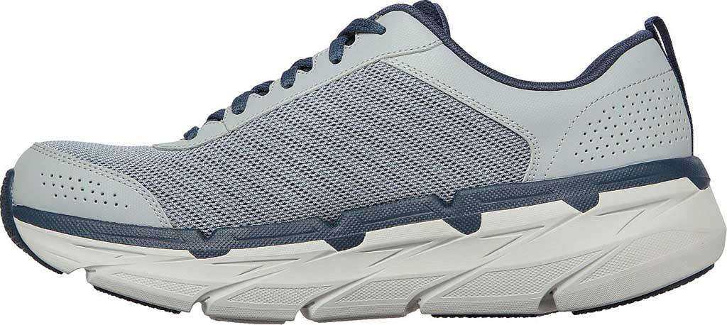 Men's Skechers Max Cushioning Premier Parag Running Sneaker, Grey/Navy, large, image 3
