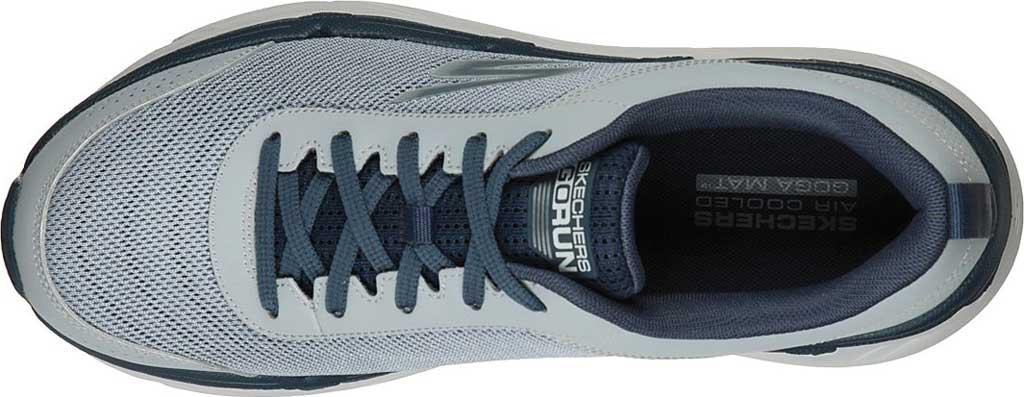 Men's Skechers Max Cushioning Premier Parag Running Sneaker, Grey/Navy, large, image 4