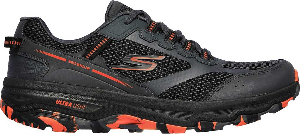 Men's Skechers GOrun Trail Altitude Marble Rock Trail Shoe, Charcoal/Orange, large, image 2
