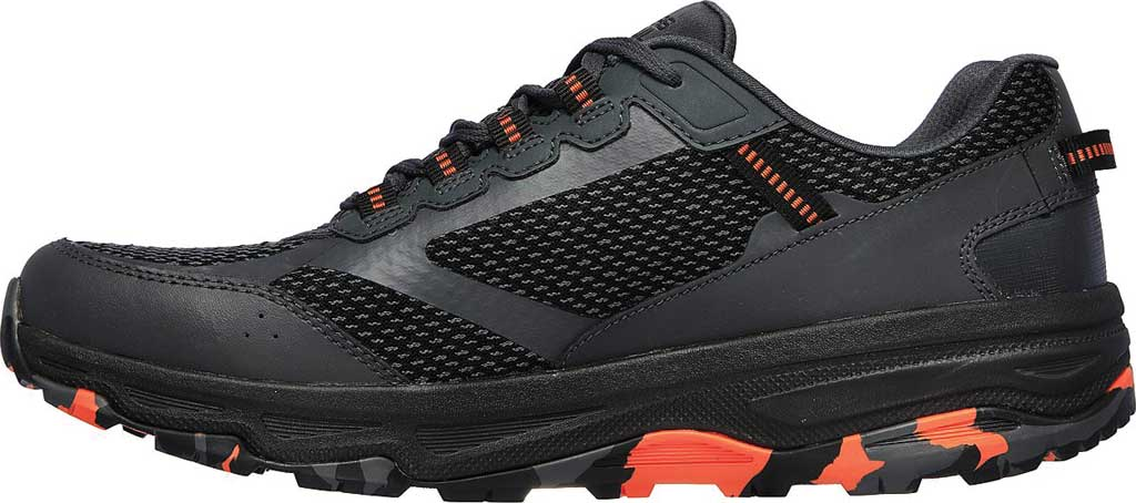 Men's Skechers GOrun Trail Altitude Marble Rock Trail Shoe, Charcoal/Orange, large, image 3