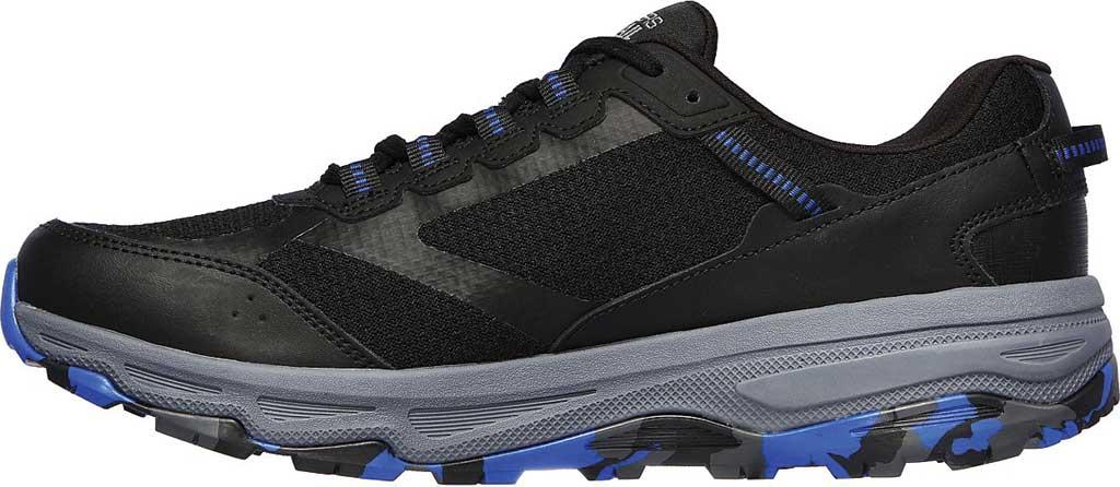 Men's Skechers GOrun Trail Altitude Marble Rock Trail Shoe, Black/Blue, large, image 3