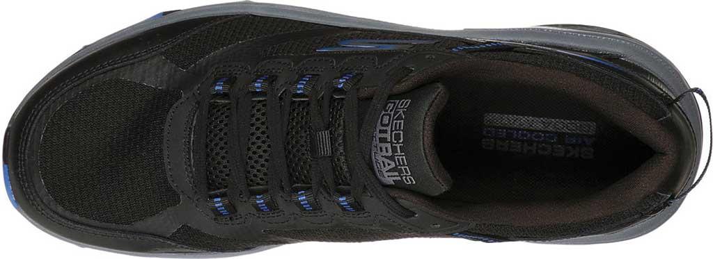 Men's Skechers GOrun Trail Altitude Marble Rock Trail Shoe, Black/Blue, large, image 4